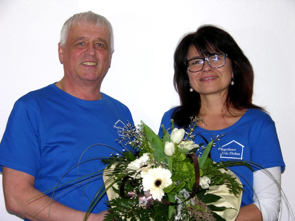 Udo Diehm und Hilde Michel-Kempf